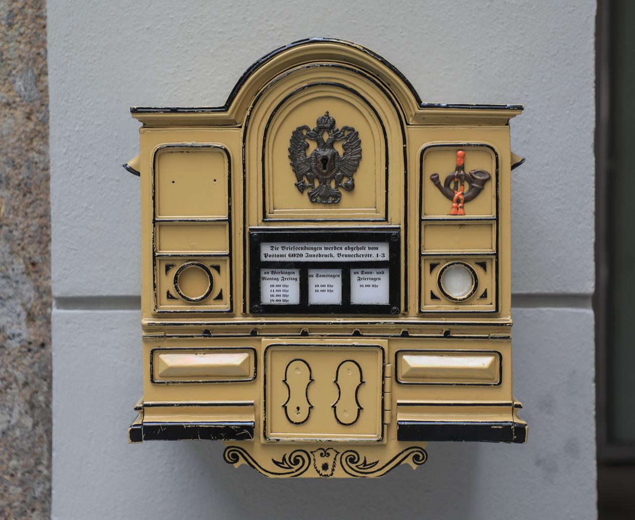 innsbruck-brievenbus