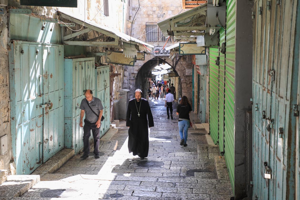 jeruzalem-oude-binnenstad-in-de-ochtend