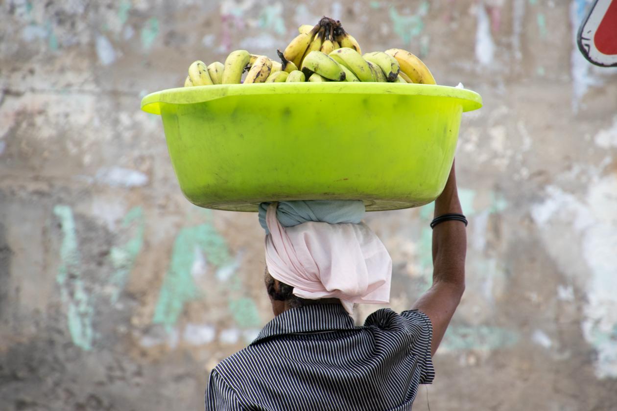 bananen-verkoopster