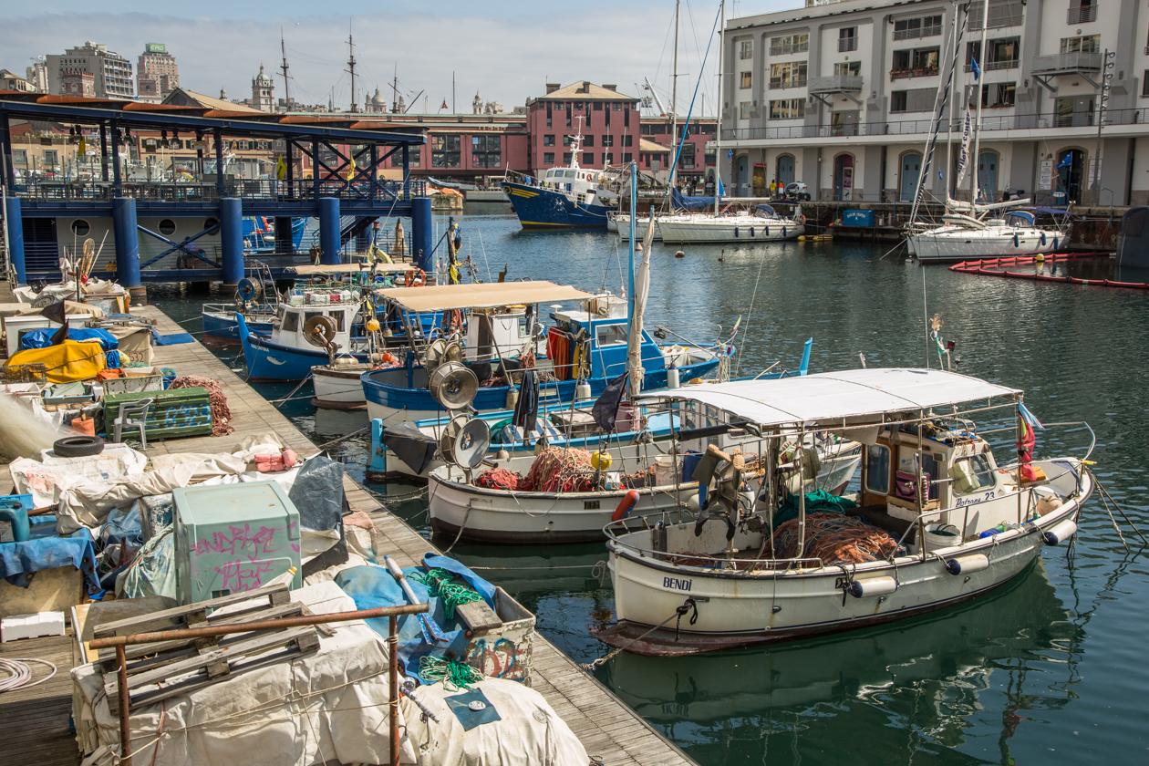 genua-vissersbootjes