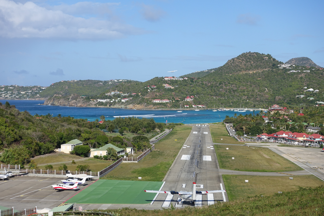 saint-barthelemy-korte-landingsbaan
