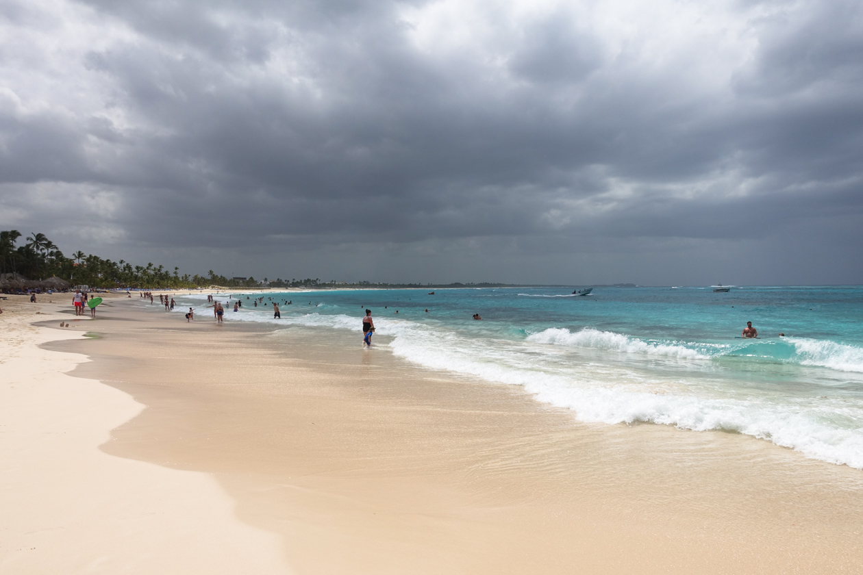 puntacana-bewolktelucht