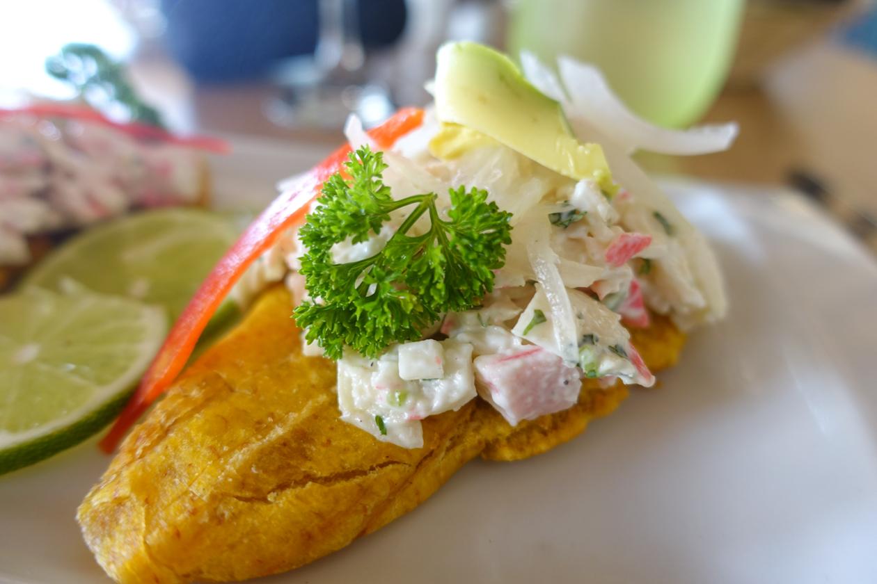 puntacana-krabsalade