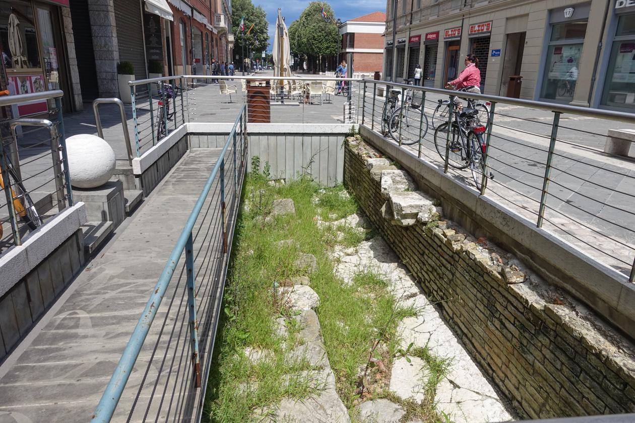 rimini-archeologie-straat