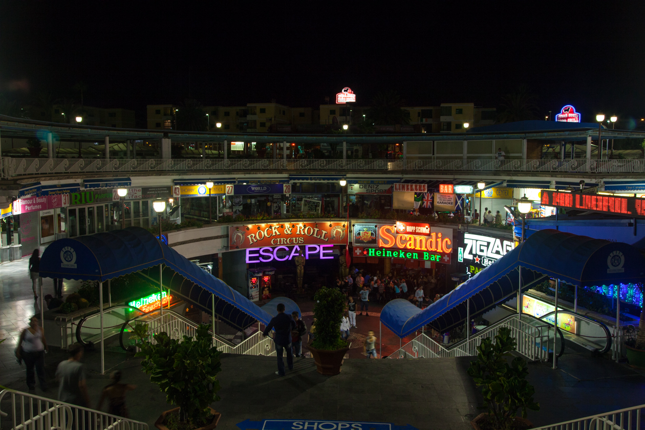 grancanaria-playa-del-ingles-uitgaansleven