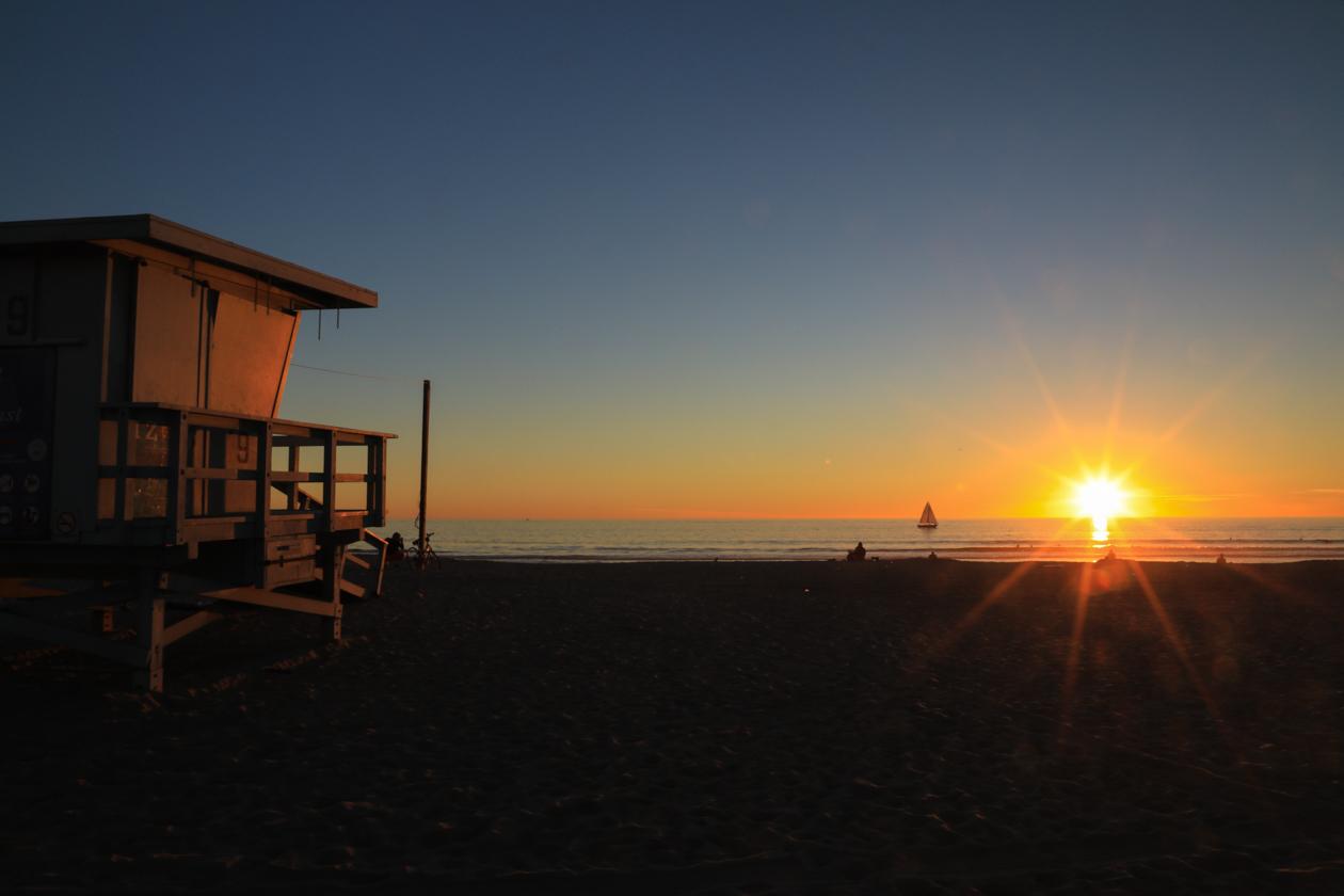 losangeles-zonsondergang