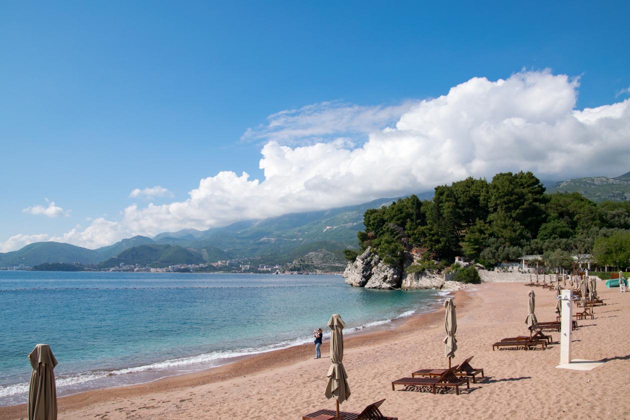 zandstranden-montenegro
