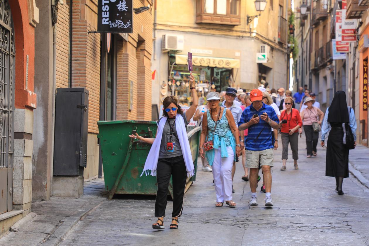 toledo-kudde-toeristen