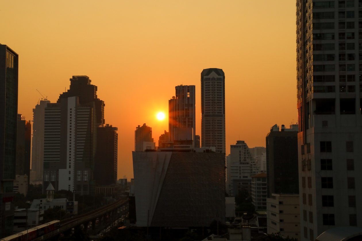 bangkok-sunset