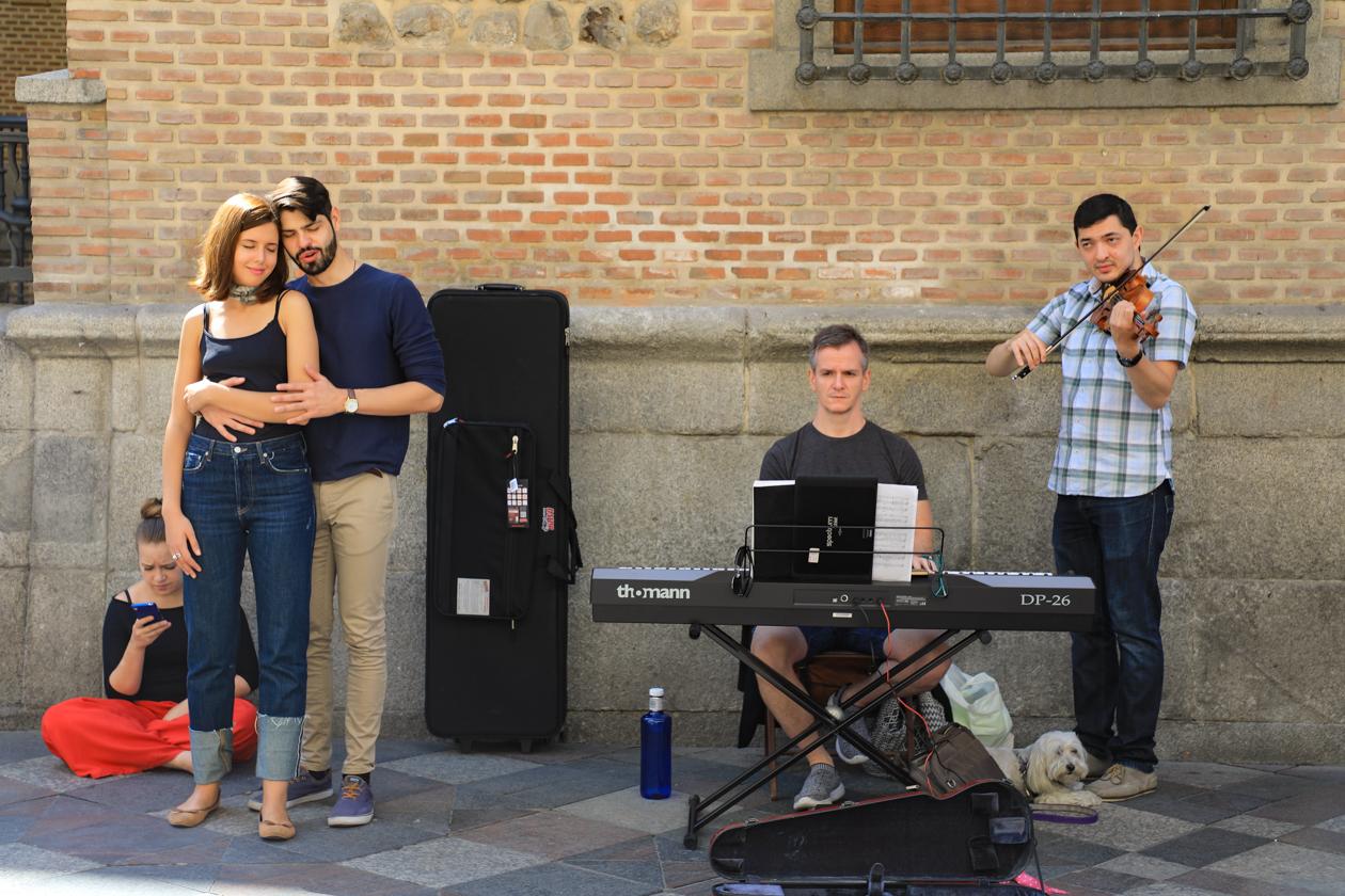 madrid-straatmuzikanten