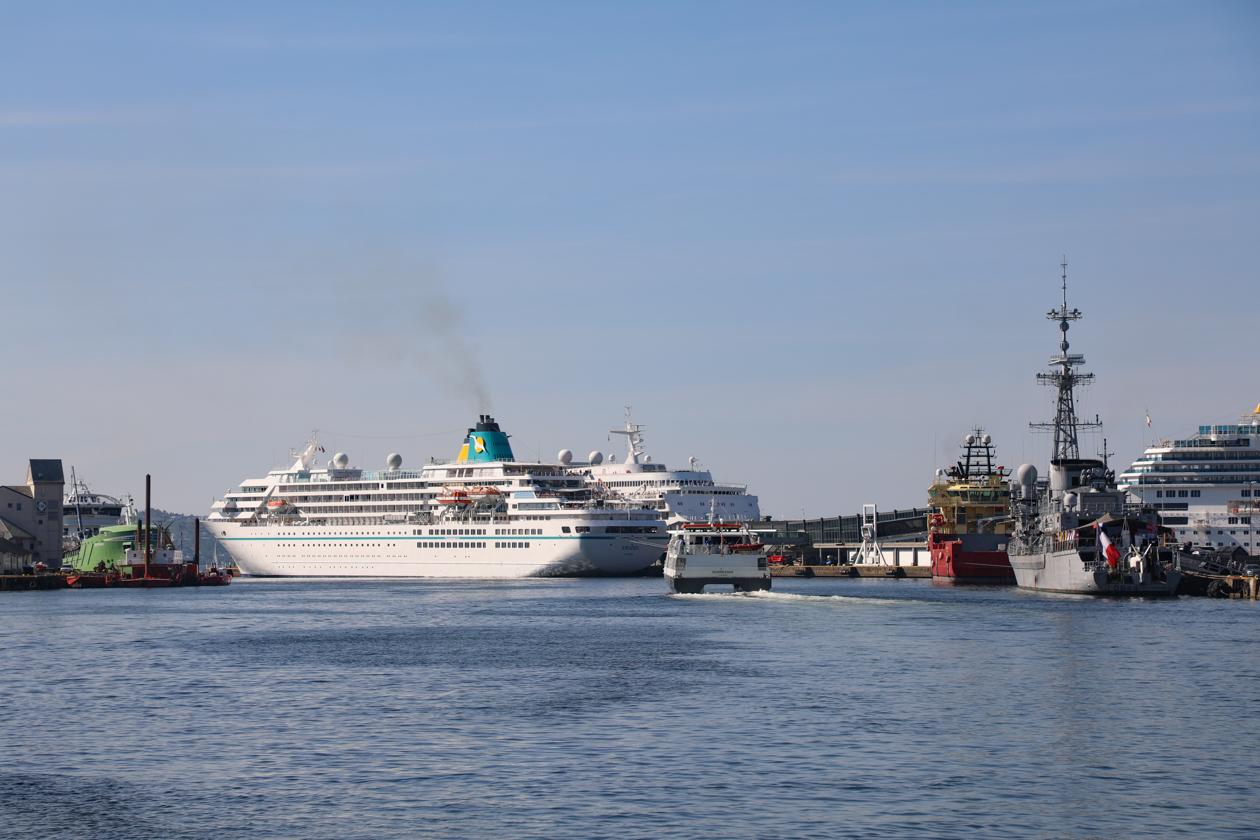 bergen-cruiseschepen