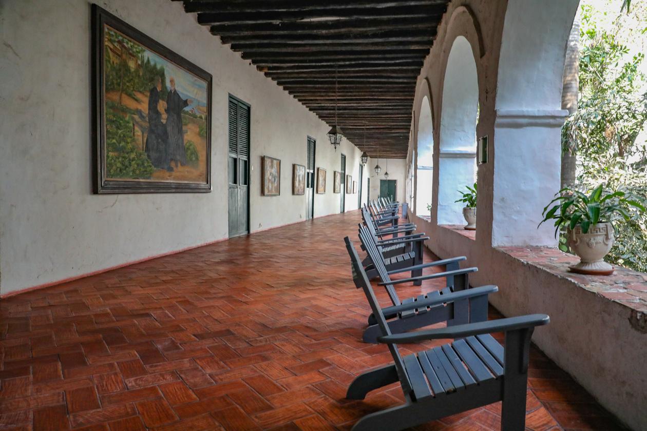 galerij in het klooster van San Pedro Klaver